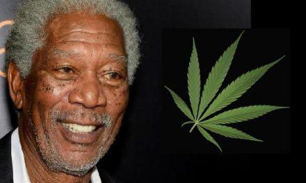 """Morgan Freeman a kannabiszról: """"Itt az ideje, hogy az egész világon legalizálják."""""""